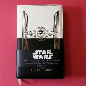 Star Wars refillable imitation leather journal